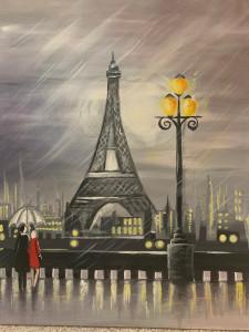 RAINY PARIS NIGHT